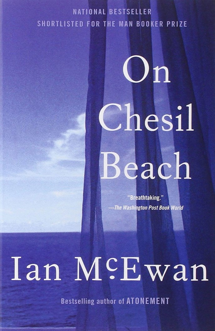 <p><strong><em>On Chesil Beach </em>by Ian McEwan</strong> <p><strong>Release date:</strong> TBA <p> <strong>What it's about:</strong> A young married couple come to Dorset for their honeymoon and struggle with fears about their wedding night. Set in 1960, <em>On Chesil Beach</em> is very much about repression and sexuality, and the short novel has a seriously depressing vibe. <p> <strong>Who'll be in the film:</strong> Emily Watson, Saoirse Ronan, Samuel West <p> <strong>If you liked this, try: </strong><em>Atonement</em> by Ian McEwan, <em>Nutshell</em> by Ian McEwan