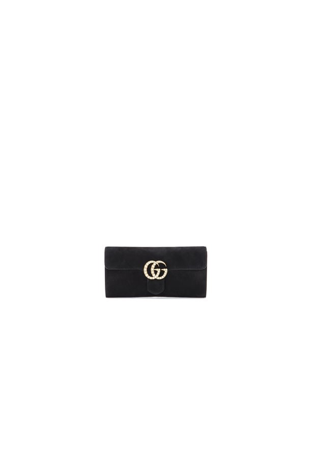 "<strong>Formal Attire</strong> <br><br> Bag, $1,435, Gucci at <a href=""http://www.mytheresa.com/en-au/suede-clutch-736048.html?catref=category"">MyTheresa</a>"