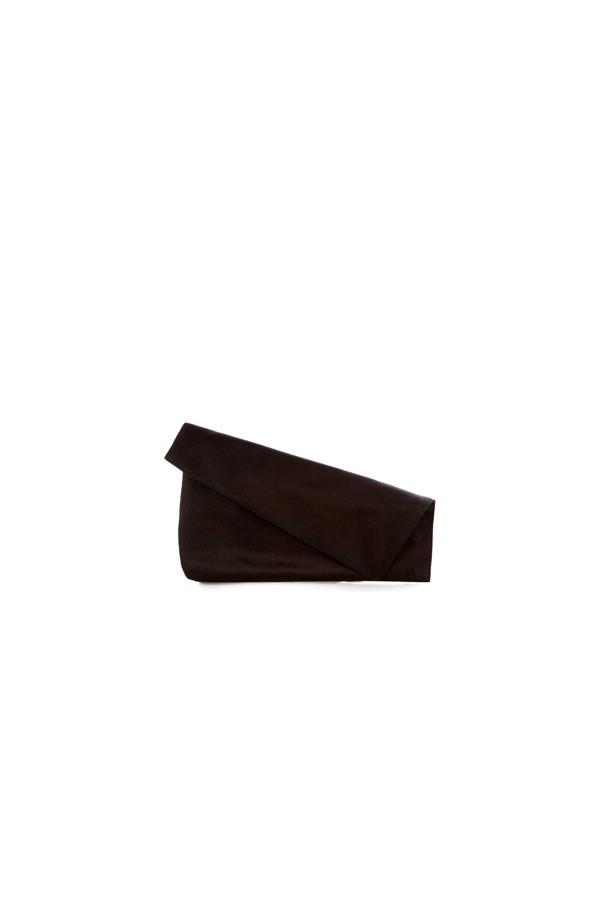 """<strong>Black Tie</strong> <br><br> Clutch, $119, Diane Von Furstenberg at <a href=""""http://www.matchesfashion.com/au/products/Diane-Von-Furstenberg-Fold-over-satin-clutch%09-1075905"""">Matches Fashion </a>"""