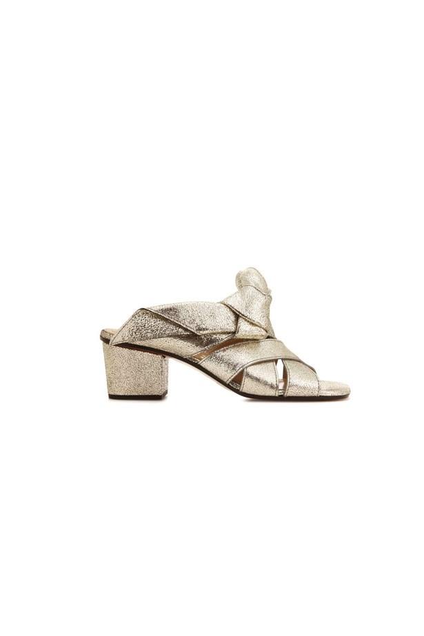 "<strong>Winter Wedding</strong> <br><br> Heels, $959, Chloé at <a href=""http://www.mytheresa.com/en-au/chloe-sandalen-aus-metallic-leder-781119.html?catref=category"">MyTheresa</a>"