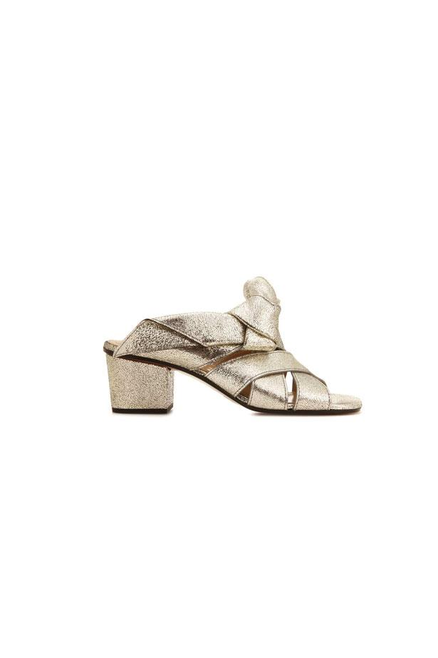 "<strong>Winter Wedding</strong> <br><br> Heels, $959, Chloé at <a href=""http://www.mytheresa.com/en-au/chloe-sandalen-aus-metallic-leder-781119.html?catref=category"">MyTheresa</a>"