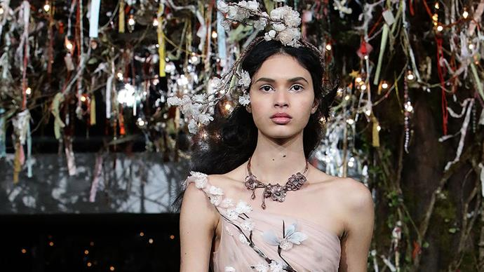 <p>To celebrate the opening of the house's largest-ever Japan store and the refreshing of the Haute Couture spring summer '17 collection, we briefly fantasise about 14 gowns we'd take right off that grassy runway and straight onto the wedding aisle—husband or no.