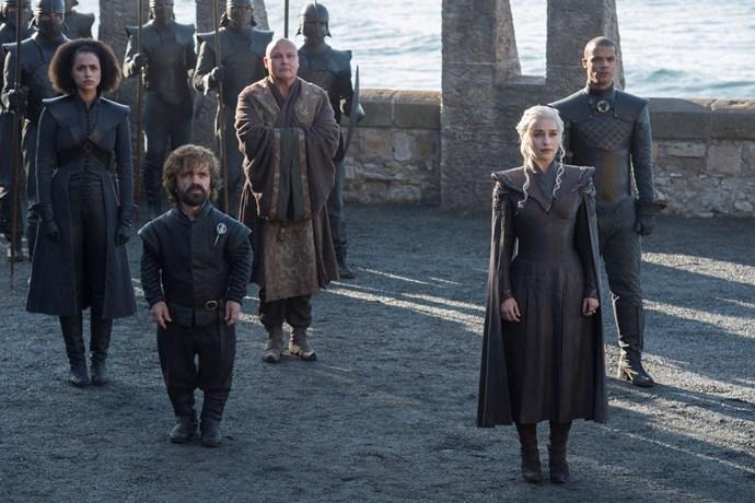 Game of Thrones season 7.