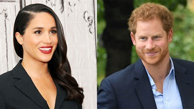 Prince Harry Expertly Dodges His First Meghan Markle Question