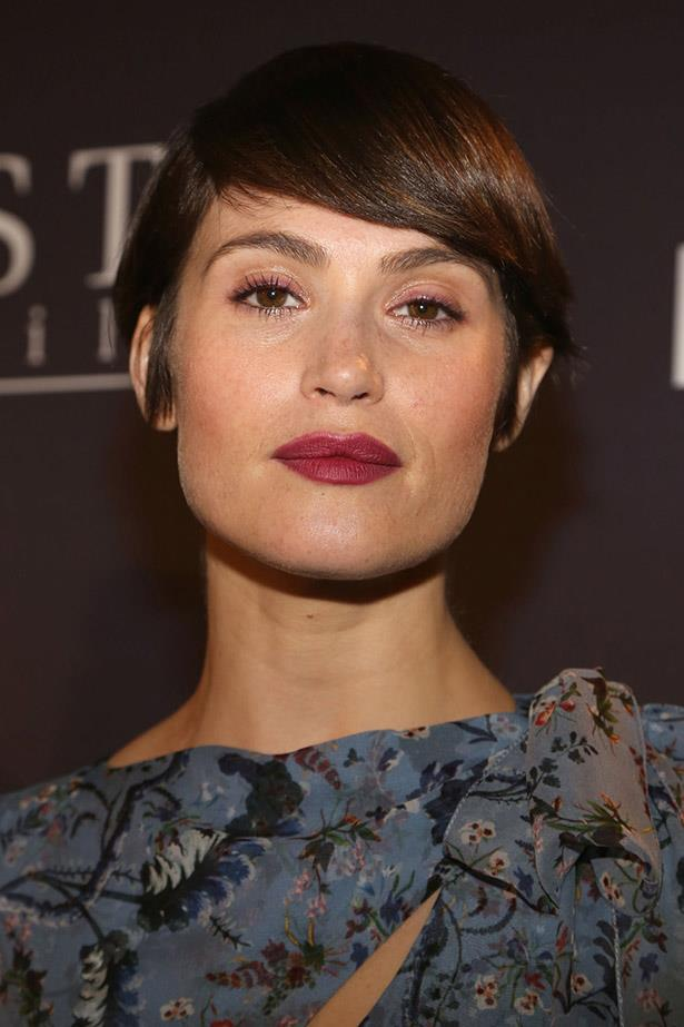 <strong>Gemma Arterton</strong> <br><br> With a jawline like that, it's no surprise Gemma Arterton just persuaded us that a bowl cut was a good idea.