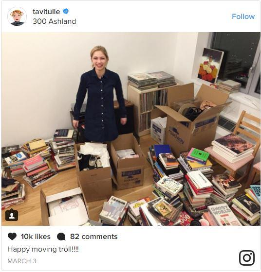 <p>There's nothing really wrong Tavi Gevinson's sponsored post... except that she also advertised her own home address along with it.