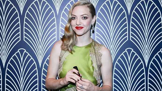 """<p><strong>Amanda Seyfried</strong><p> """"[Therapy] has been such a great tool, and my therapist told me that I passed with flying colours, but we'll see how things go."""""""