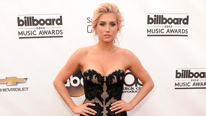 """<p><strong>Kesha</strong><p> """"I felt like part of my job was to be as skinny as possible, and to make that happen, I had been abusing my body. I just wasn't giving it the energy it needed to keep me healthy and strong. My brain told me to just suck it up and press on, but in my heart I knew that something had to change. So I made the decision to practise what I preach. I put my career on hold and sought treatment. I had to learn to treat my body with respect,"""" she wrote in an article for <a href=""""https://go.redirectingat.com/?id=74679X1524629&sref=https%3A%2F%2Fwww.buzzfeed.com%2Feleanorbate%2Fcelebs-talk-about-therapy&url=http%3A%2F%2Fwww.elleuk.com%2Ffashion%2Fcelebrity-style%2Fkesha-reborn-read-her-honest-memoir-rehab-eating-disorder&xcust=4173824%7CBFLITE&xs=1""""><em>ELLE</em> US</a>."""