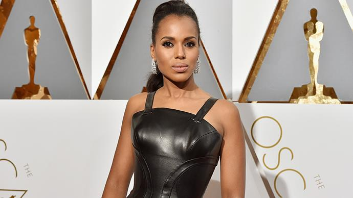 """<p><strong>Kerry Washington</strong><p> Kerry told <em><a href=""""https://go.redirectingat.com/?id=74679X1524629&sref=https%3A%2F%2Fwww.buzzfeed.com%2Feleanorbate%2Fcelebs-talk-about-therapy&url=http%3A%2F%2Fwww.essence.com%2F2007%2F06%2F05%2Fkerrys-choice-kerry-washington&xcust=4173824%7CBFLITE&xs=1"""">Essence</a></em>, """"Learning how to love myself and my body is a lifelong process. But I definitely don't struggle the way I used to. Therapy helped me realise that maybe it's okay for me to communicate my feelings. Instead of literally stuffing them down with food, maybe it's okay for me to express myself."""""""