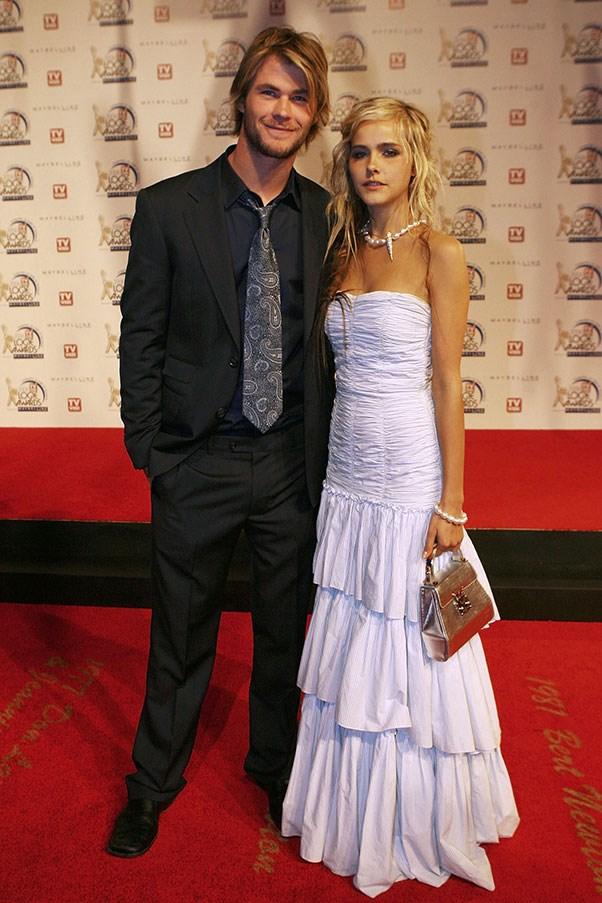 Chris Hemsworth and Isabel Lucas, 2006.