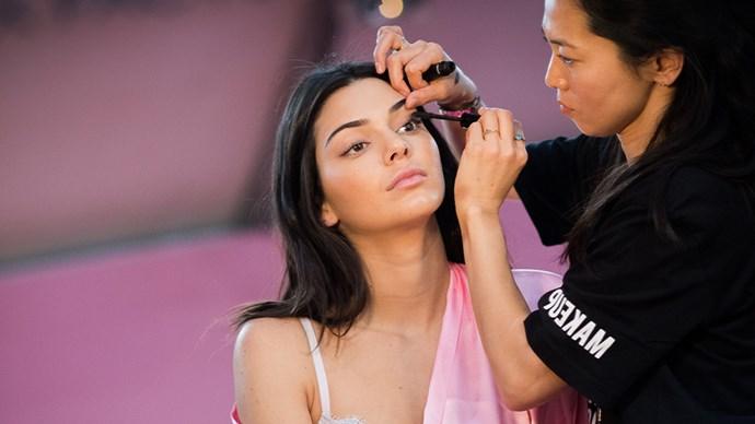 Kendall Jenner lashes