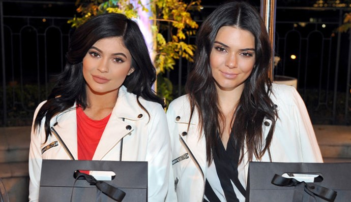 Kendall and Kylie Jenner matching