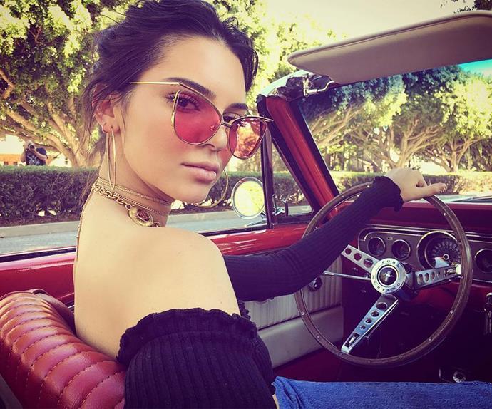 Kendall Jenner Cars