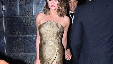 Chrissy Teigen Documents A Fashion Miracle On Instagram