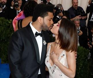 Selena Gomez The Weeknd Met Gala 2017
