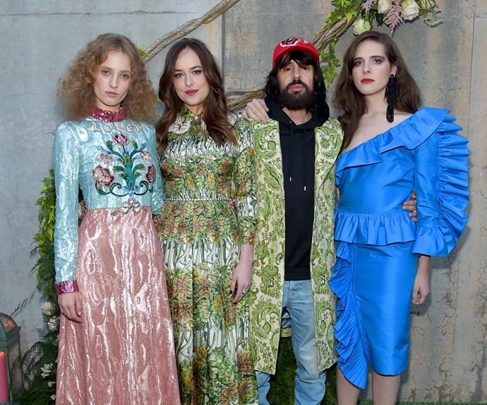 Gucci Garden party.
