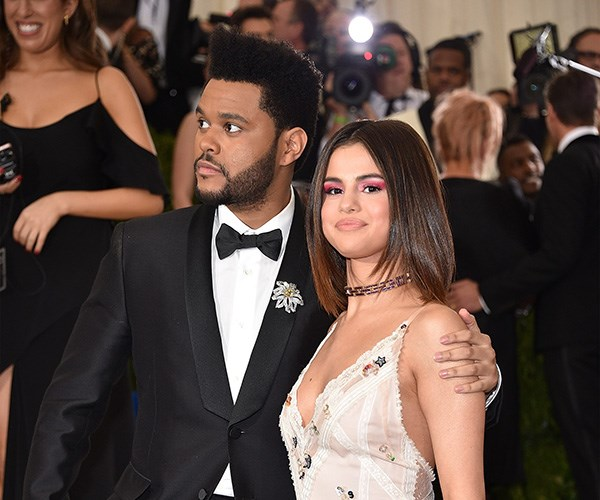 Seelna Gomez and the Weeknd