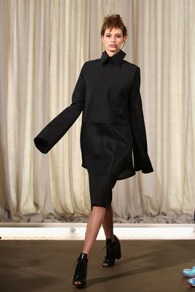 Ellery was all about the extra-long shirt sleeve before anyone else. In 2014, she sent models down the runway sporting the chic cuff.