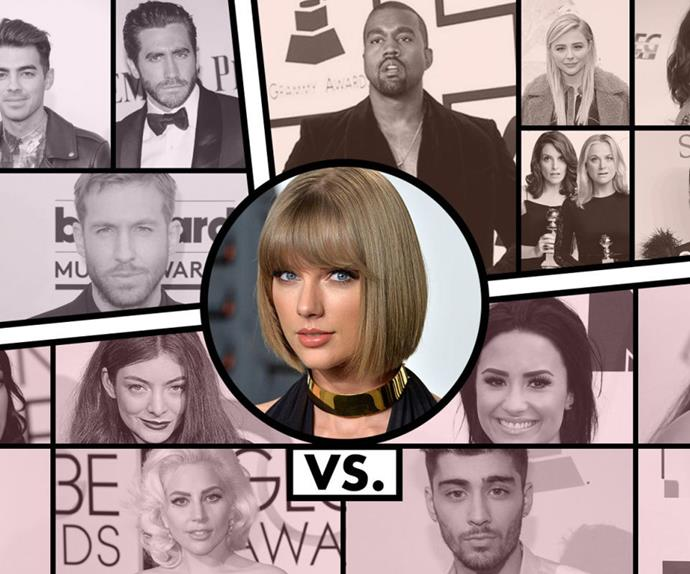 Taylor Swift Feuds Bad Blood