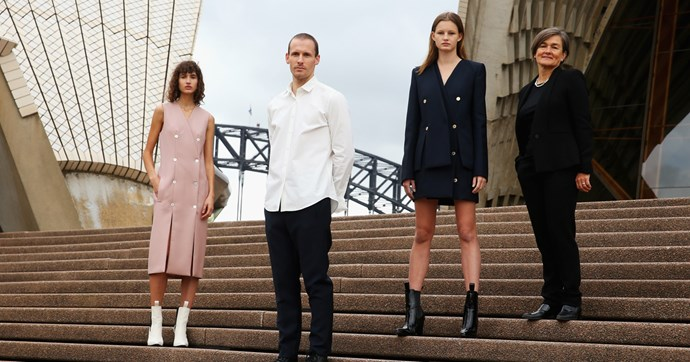 Dion Lee Opera House uniforms