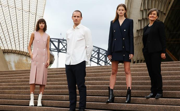 Dion Lee Opera House uniforms