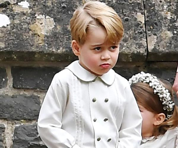 Prince George Pippa Middleton wedding
