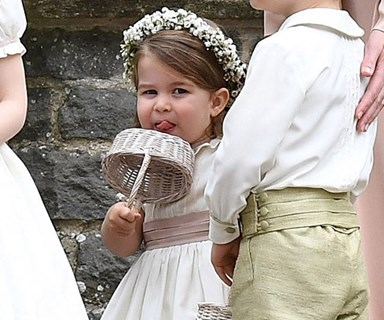 All Of Prince George And Princess Charlotte's Cutest Moments At Pippa's Wedding