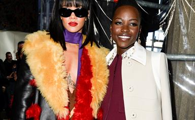 Rihanna And Lupita Nyong'o Are Starring In The Twitter-Pitched Buddy Comedy Of Our Damn Dreams