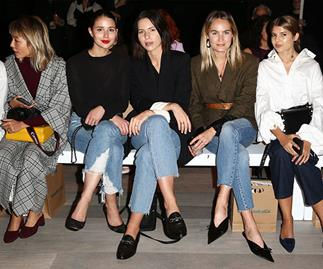 bloggers front row
