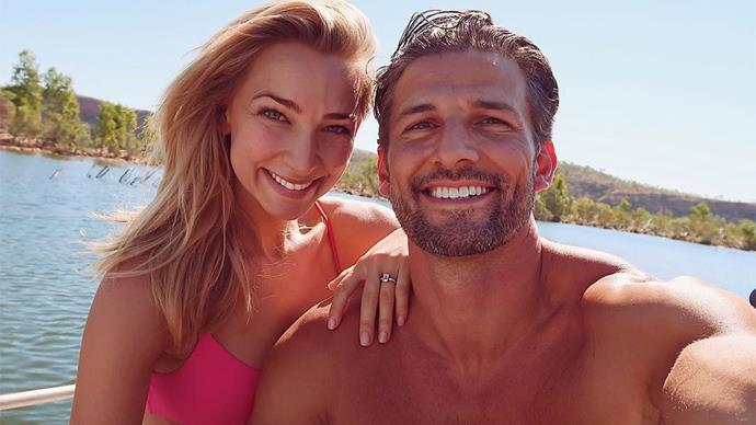 Anna Heinrich Tim Robards engaged