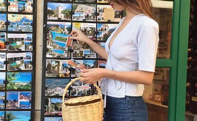 Four Straw Market Bags To Help You Get Your French-Girl Game On
