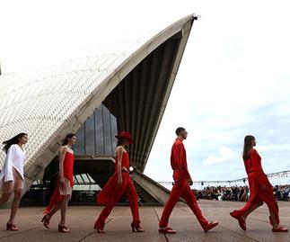 trend report Australian fashion week 2017