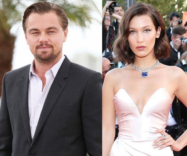 Leonardo DiCaprio and Bella Hadid
