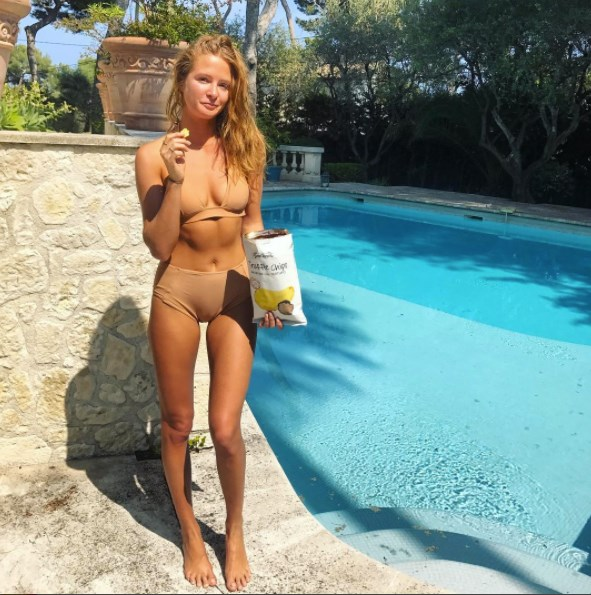 **Millie Mackintosh**<br><br> After a brief stint on the red carpet at Cannes Film Festival, Millie Mackintosh is taking a poolside break.
