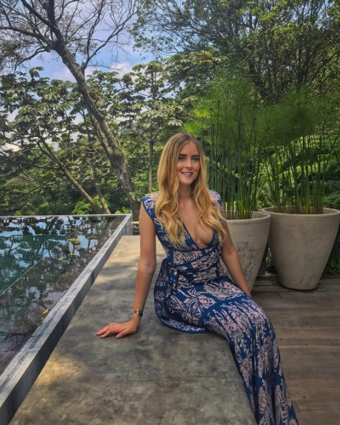 **Valentina Ferragni**<br><br> The fashion influencer is currently in the exotic Central American country of Guatemala.