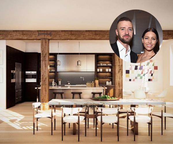 Justin Timberlake Jessica Biel Penthouse