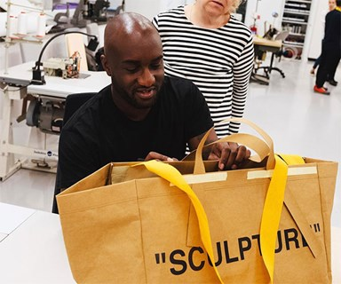 Off-White's Virgil Abloh Has Teamed Up With IKEA Because... Fashion