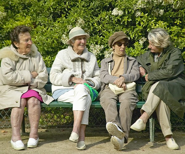 old ladies set up their own retirement home