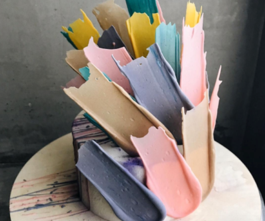 This 'Paintbrush Stroke' Cake Trend Is Dominating Our Insta-Feed