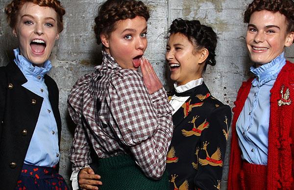 Macgraw Australian fashion designers