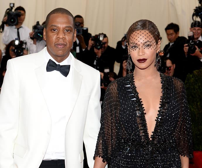 Beyonce and Jay Z.