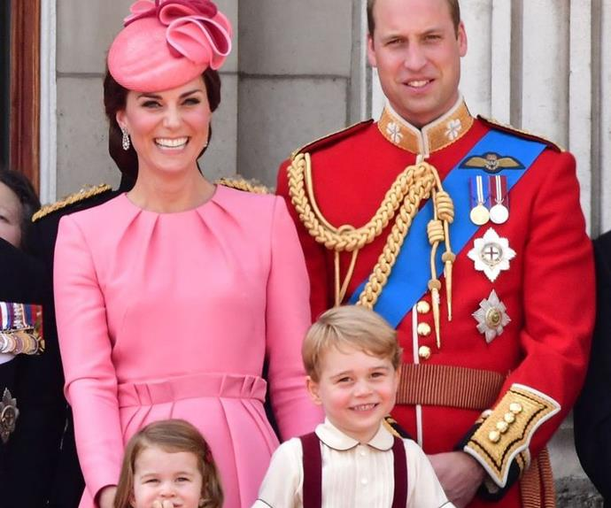 Royals at Trooping The Colour 2017