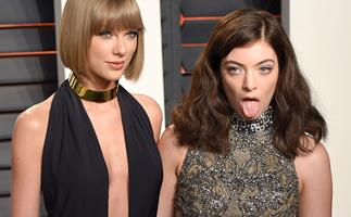 Lorde and Taylor Swift.