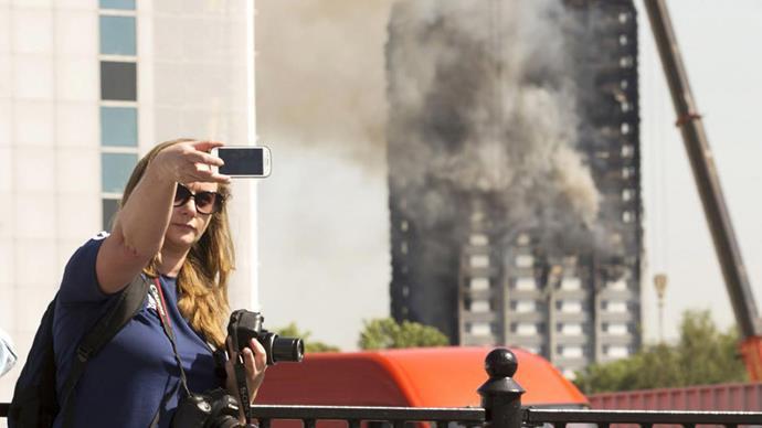 grenfell tower selfie