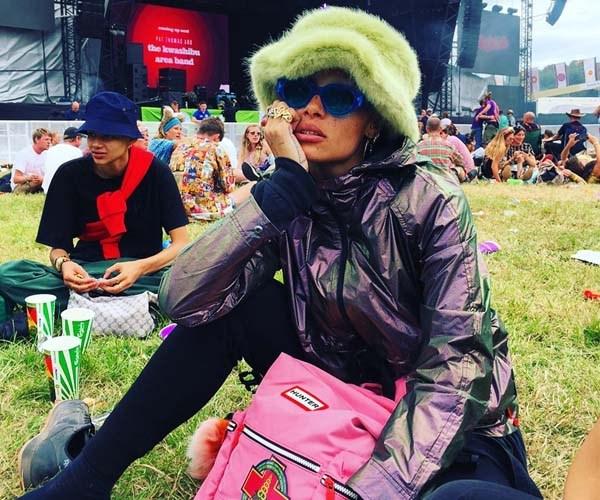 GLASTONBURY 2017 celebrity fashion