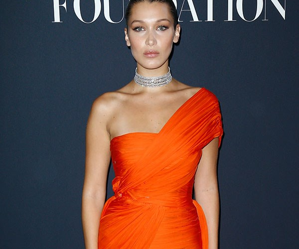 Bella Hadid Steps Out In A Ball Gown That's Business At The Front, Party At The Back