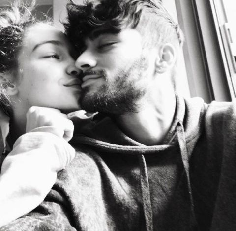 "Gigi gave her love a Valentine's Day shoutout with this Instagram, simply captioned, ""everyday 💘."""
