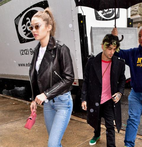 """Lately, Zayn has been spotted spending lots of time in NYC with Hadid, even though his primary home is in Los Angeles. <br> """"I just spend time here because I have my girlfriend here and a lot of work is here,"""" he explained in a July interview with *Clash Magazine*. """"My life is here now, pretty much."""""""