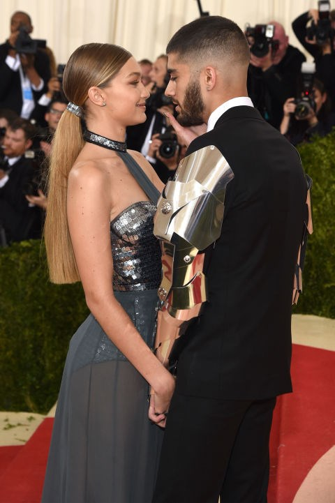 Gigi and Zayn made their red carpet debut at the 2016 Met Gala, and they were 100% robot chic and 1000% in love.