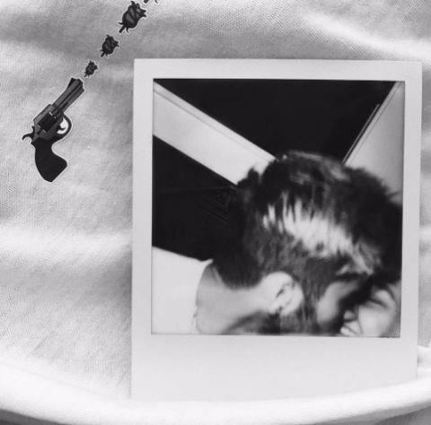In February, Zayn posted this intimate Polaroid on Instagram.